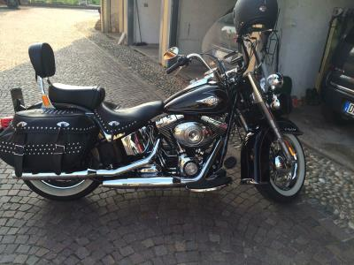 Harley Davidson FLSTC heritage softail classic abs